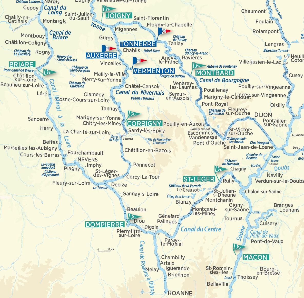 Burgundy - Loire